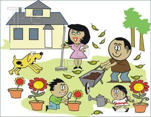 Family-Garden-Cartoon-1644139